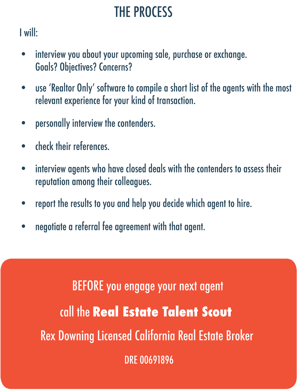 Rex Downing - The Real Estate Talent Scout